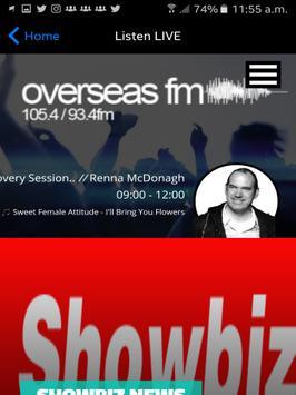 OverseasFM screenshot 1