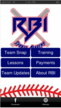 RBI Sports Academy poster