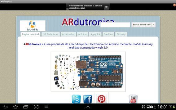 ARdutronica screenshot 2