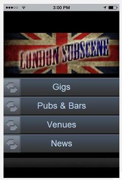 London Subscene poster
