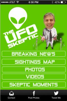 The UFO Skeptic apk screenshot