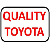 Quality Toyota icon