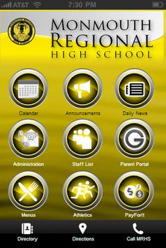 Monmouth Regional High School poster