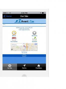 Avant-Tax2Go screenshot 1