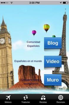 Espanoles por el mundo poster