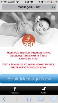 Massage 360 poster