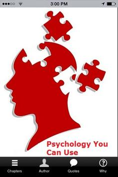 Psychology You Can Use poster