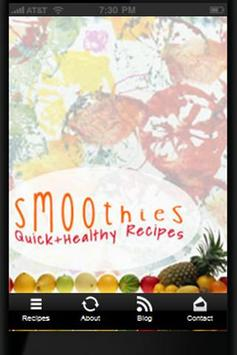 Healthy Smoothies poster