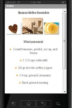 Healthy Smoothies apk screenshot