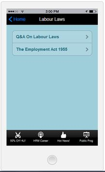 Labour Laws Malaysia MIHRM screenshot 1