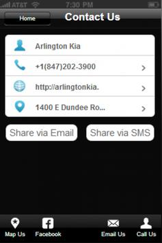 Arlington Kia apk screenshot