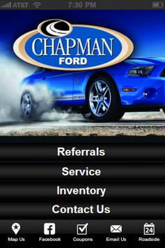 Chapman Ford poster