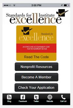 Standards for Excellence screenshot 4