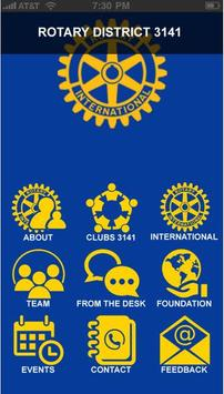 Rotary International Dist 3141 poster
