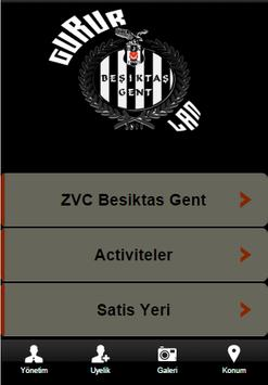 Besiktas Gent poster