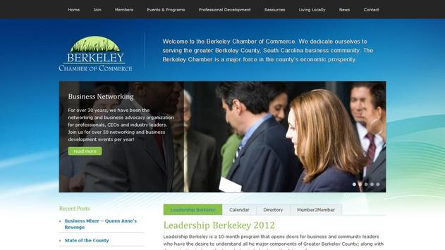 Berkeley Chamber of Commerce poster