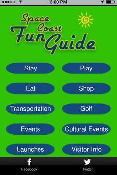 Space Coast Fun Guide poster