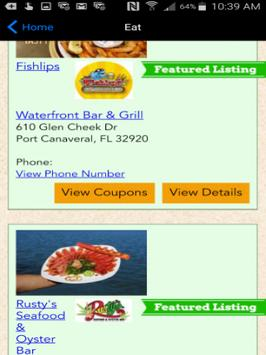 Space Coast Fun Guide apk screenshot
