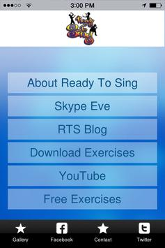 Ready To Sing Voice Lessons poster