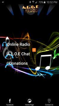 Aloe Radio poster