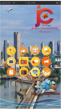 Johor Community Tourism poster