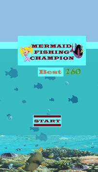 game mermaid fishing champion poster