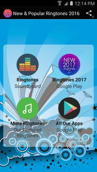 New & Popular Ringtones 2016 poster
