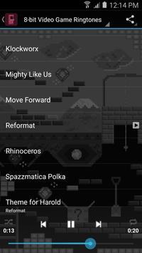 8-bit Video Game Ringtones apk screenshot