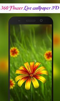 360 Flower live wallpaper 3D apk screenshot