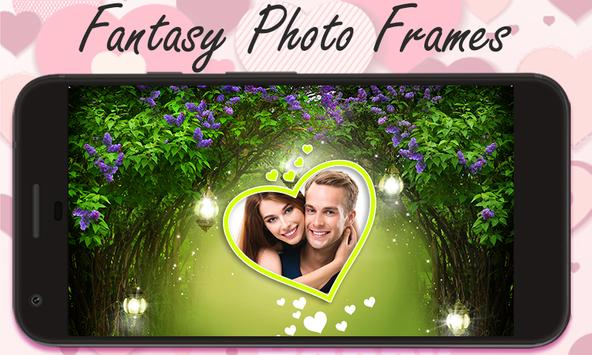 Fantasy photo frames poster