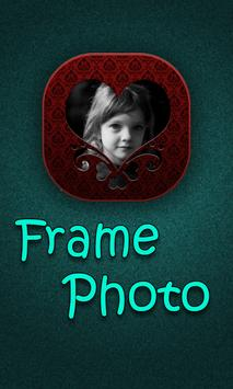 Frame photos poster