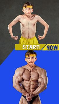 Gym Body Photo Maker poster