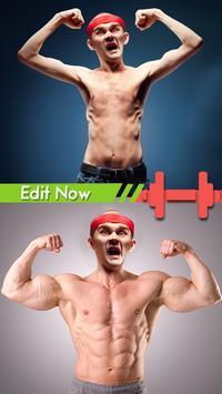 Gym Body Photo Maker apk screenshot