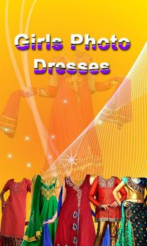 Indian Girls photo dress poster