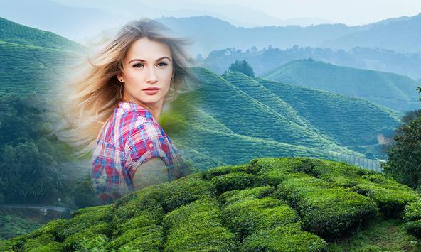Green Hill Photo Frames apk screenshot