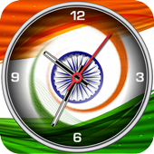 India Clock Live Wallpaper icon