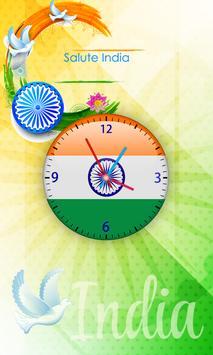 India Clock Live Wallpaper poster