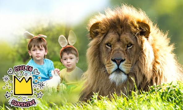 Lion Photo Frames apk screenshot