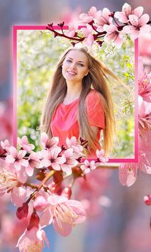 Sakura Photo Frames screenshot 2