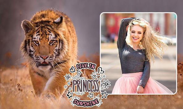 Tiger Photo Frames poster