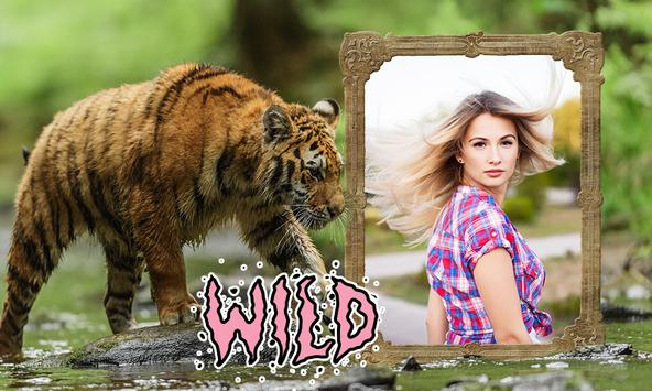 Tiger Photo Frames apk screenshot