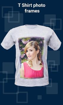 T Shirt photo frames apk screenshot