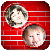 Wall Dual Photo Frames icon