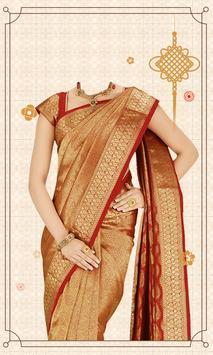Women Saree Photo poster