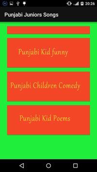 Punjabi juniors Songs screenshot 4