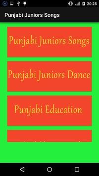 Punjabi juniors Songs poster
