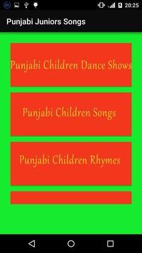 Punjabi juniors Songs screenshot 1