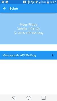 Meus Filtros apk screenshot