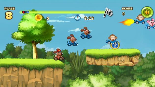 Racing of Animals apk screenshot