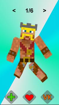 Clash of clans Skins for Minecraft poster